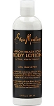 Shea Moisture African Black Soap Body Lotion with Oats, Aloe and Vitamin E (16oz)