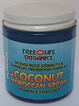 Tree Of Life Coconut with Moroccan Argan and Vitamin E Hair Pomade (8 oz)