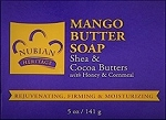 Nubian Heritage Mango Butter Soap with Shea and Cocoa Butters, Honey & Cornmeal (5 oz)