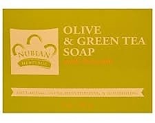 Nubian Heritage Olive and Green Tea Bath Soap with Avocado (5 oz)