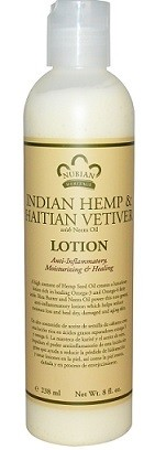 Nubian Heritage Indian Hemp and Haitian Vetiver Lotion (13 oz.)